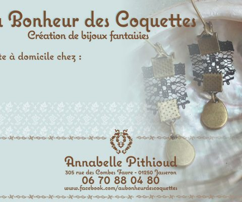 Cartons d'invitation 2016 – Au Bonheur des Coquettes
